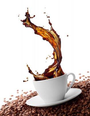Carta da parati splashing coffee