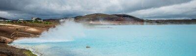 Carta da parati stagno geotermico, Myvatn