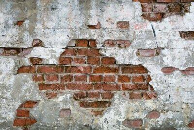 Carta da parati Stara cegła - ściana, mur