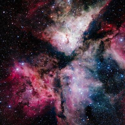 Carta da parati Stars nebula nello spazio. Elementi di questa immagine fornita dalla NASA
