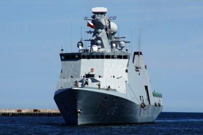 Carta da parati Statek w Gdyni