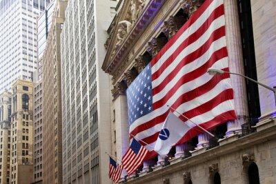Carta da parati Stati Uniti d'America bandiera