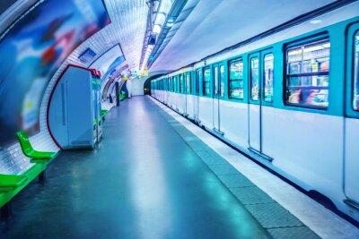 Carta da parati Stazione della metropolitana di Parigi