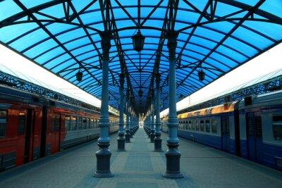 Carta da parati Stazione ferroviaria Jaroslavskij