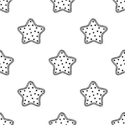 Carta da parati stelle di legno modello 2