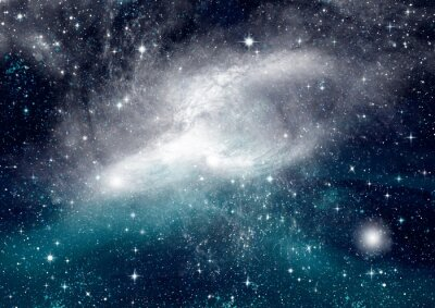 Carta da parati Stelle, polveri e gas nebulosa