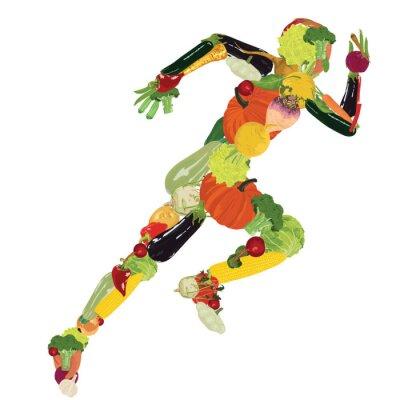 Carta da parati stile di vita sano