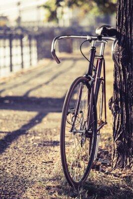 Carta da parati Strada Bike fisso bicicletta ingranaggio
