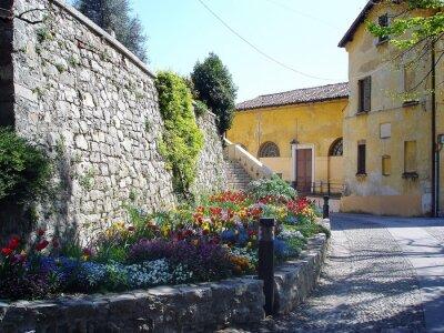 Carta da parati streen pittoresche in Italia