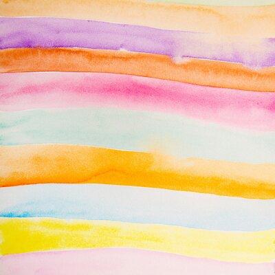 Carta da parati strisce colorate colore dell'acqua