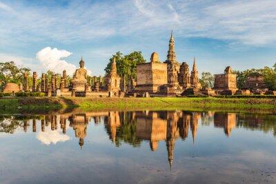 Carta da parati Sukothai Historical Park, Thailandia