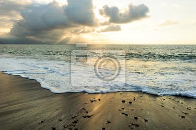 Carta da parati Sunset Ocean Rays