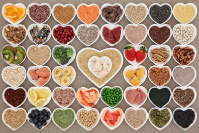 Carta da parati Super Food Salute