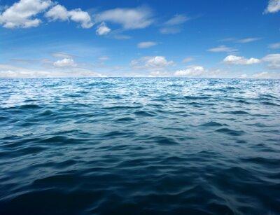 Carta da parati superficie di acqua di mare blu