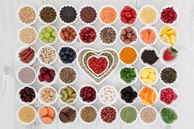 Carta da parati Superfood sano