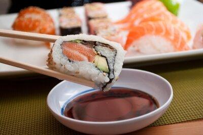 Carta da parati sushi