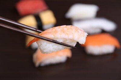 Carta da parati sushi cibo giapponese
