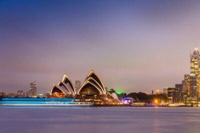 Carta da parati SYDNEY - 12 ottobre 2015: L'iconica Sydney Opera House è un mu