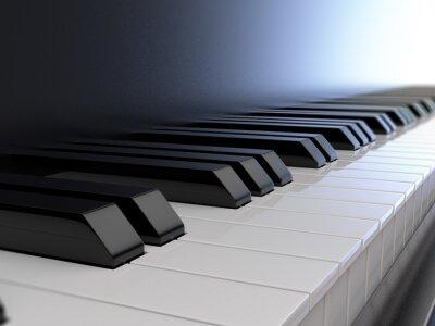 Carta da parati tastiera del pianoforte