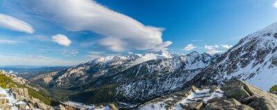 Carta da parati Tatra strega belle nuvole