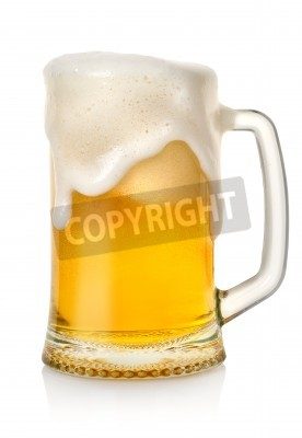 Carta da parati Tazza con birra