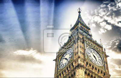 Carta da parati The BigBen in London