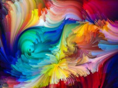 Carta da parati The Living Color