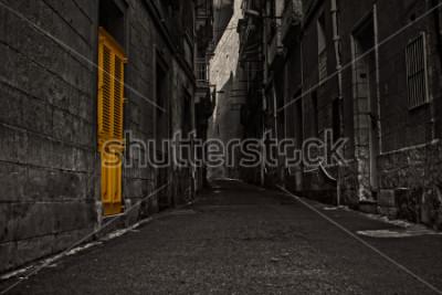 Carta da parati The Yellow Door