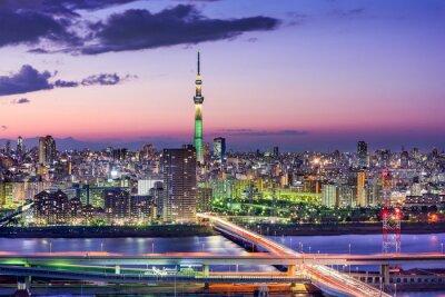 Carta da parati Tokyo, Giappone Skyline