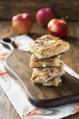 Carta da parati torta di mele