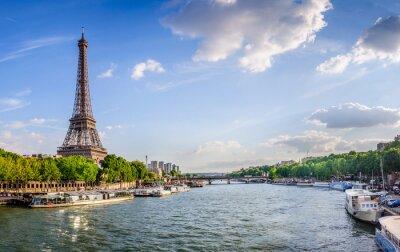 Carta da parati Tour Eiffel et pont d'Iéna