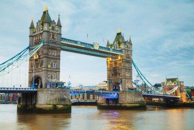 Carta da parati Tower Bridge a Londra, Gran Bretagna