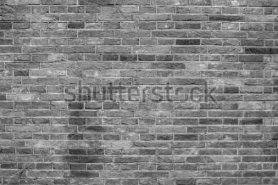 Carta da parati Trama di muro di mattoni grigi.