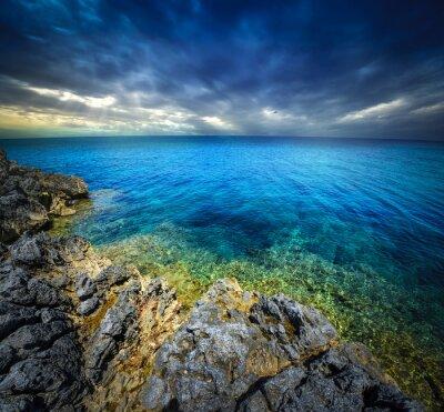 Carta da parati tramonto e il mare