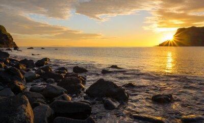 Carta da parati Tramonto sulla famosa isola di Skye, in Scozia