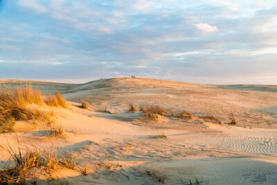 Carta da parati Tramonto sulle maestose dune del Jockey's Ridge State Park