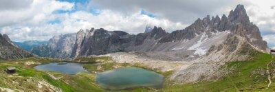 Carta da parati Trekking nel Parco Nazionale Tre Cime, Dolomiti