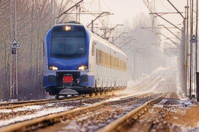 Carta da parati Treno