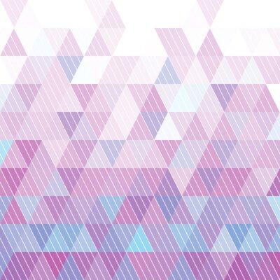 Carta da parati Triangoli modello