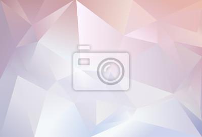 Triangolo Astratto Sfondo Rosa Chiaro E Il Colore Blu Carta Da