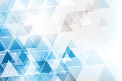 Carta da parati trójkąty tło WEKTOR