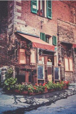 Carta da parati Tuscan restaurant