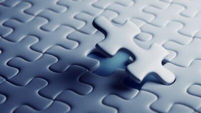 Carta da parati Ultimo pezzo di un puzzle
