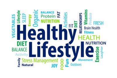 Carta da parati Uno stile di vita sano