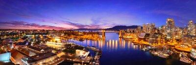 Carta da parati Vancouver vista sul porto