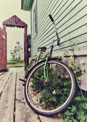 Carta da parati Vecchia bici retrò.