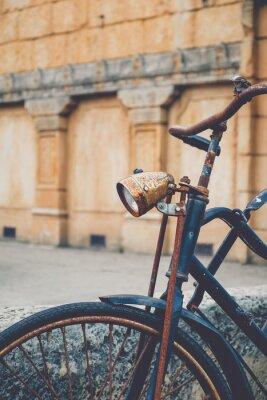 Carta da parati Vecchia bicicletta arrugginito