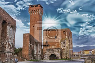 Carta da parati Vecchio castello a Pisa