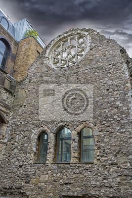 Carta da parati Vecchio edificio, Londra.
