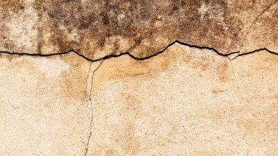 Carta da parati Vecchio incrinato sfondo di muro